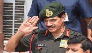 नगरोटा आतंकी हमला: जनरल दलबीर सुहाग ने लिया आर्मी यूनिट का जायजा