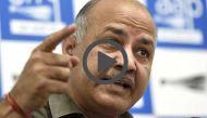 मनीष सिसोदिया: मोदी दुनिया के पहले अर्थशास्त्री है जिनके मुताबिक 1000 का नोट भ्रष्टाचार बढ़ाता है, 2000 का घटाता है