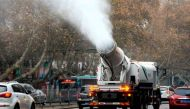 China turns to 'mist-canon' to fight smog, pollution