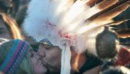 In pictures: The amazing moment when Standing Rock activists realised they'd won