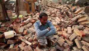 In pics: Homes bulldozed, slum-dwellers face bleak winter in Delhi's Mehrauli