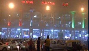 Delhi: 81 trains, 5 international flights delayed due to dense fog