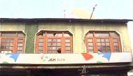 कश्मीर के पुलवामा में आतंकवादियों ने बैंक से लूटे 13.38 लाख रुपये