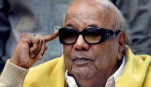 DMK president Karunanidhi admitted to hospital for endoscopic procedure