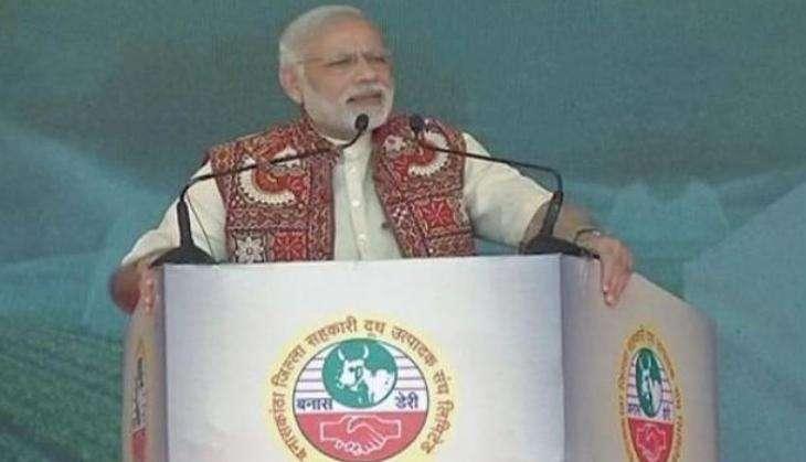 Modi spoke at Jan Sabha because he's afraid of accountability in Parliament