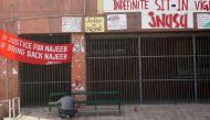 Grilles come down on JNU's 'Freedom Square' in an attempt to 'curb dissent'