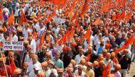 Last Maratha Kranti Morcha rally in Nagpur tomorrow, organisers confident, politicians not so much