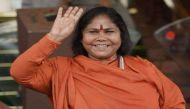 साध्वी निरंजन ज्योति ने कहा, यूपी में गुंडों की सरकार है