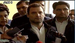 Rahul Gandhi snubs BJP, says demonetisation is all about 'gareebon se paisa kheechon, ameeron ko paisa seechon'