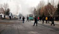 Turkish bus carrying soldiers hit by explosion, at least 13 killed and 48 injured