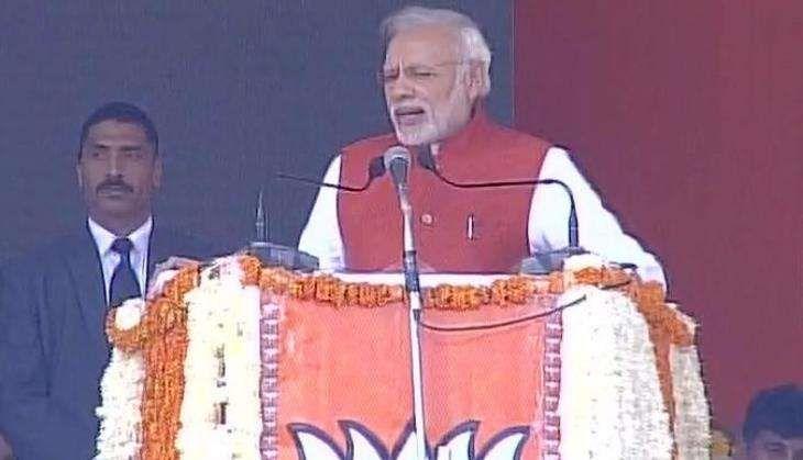 Prime Minister Narendra Modi to visit Varanasi today; will address 20,000 BJP workers