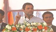 राहुल गांधी: मोदी जी ने देश के ग़रीबों पर बम फेंका है