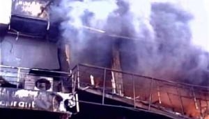 Fire breaks out at a hotel in Srinagar, no casualties reported