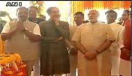 मुंबई: पीएम मोदी ने शिवाजी स्मारक समेत कई परियोजनाओं का शिलान्यास किया