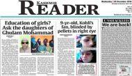 Kashmir Reader hits stands after 3-month ban
