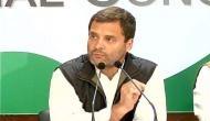 #MeToo: राहुल गांधी का आरोपियों पर निशाना, बोले- महिलाओं के साथ गरिमा से पेश आने का सलीखा सीखें