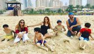 सुजैन ने पोस्ट की तस्वीरें, दुबर्इ में छुट्टियां मना रहे हैं ऋतिक