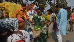 नोटबंदी: रायपुर में किसानों ने 100 टन सब्ज़ियां मुफ़्त बांटी