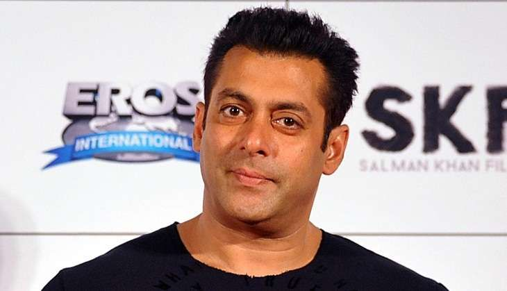 Salman Khan spots another new talent; this time it's a young girl.