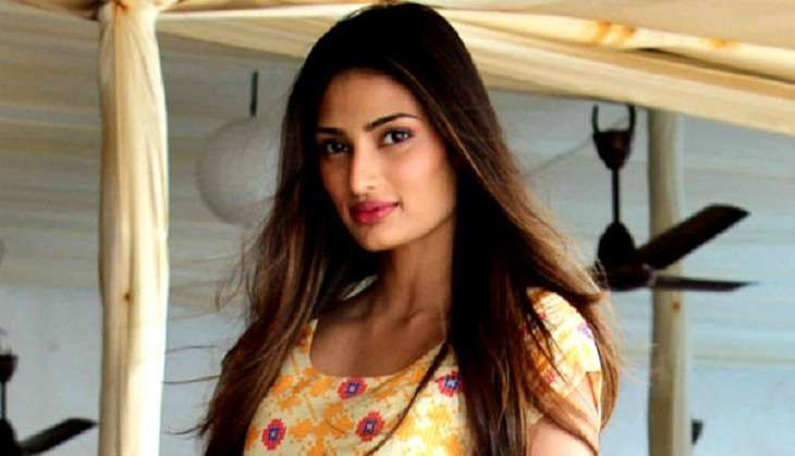 Is Athiya Shetty feeling out of place?