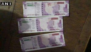 किसान को SBI से मिले 2000 के नोट से बापू की तस्वीर नदारद