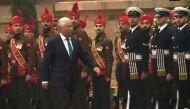 Portugal PM Antonio Costa accorded ceremonial welcome at Rashtrapati Bhawan