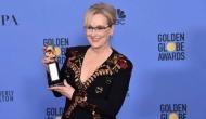 Meryl Streep dedicates her NBR award to 'men'