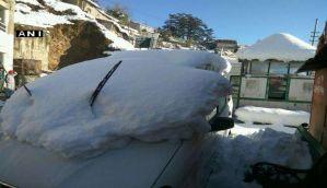 हिमाचल में शीत लहर का क़हर, 7 की मौत, शिमला का पारा माइनस 3.2 डिग्री