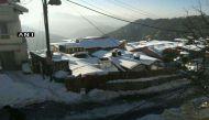 भारी बर्फबारी से सफेद चादर में लिपटा शिमला, 3 दिन बाद खुला जम्मू- श्रीनगर हाईवे