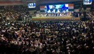 जन वेदना सम्मेलन: मोदी के ख़िलाफ़ आक्रामक राहुल ने 14 बार कहा 'डरो मत'