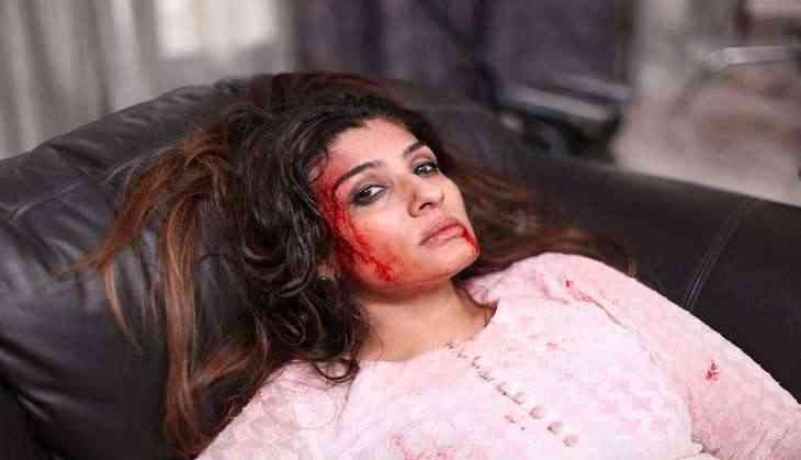 Raveena Tandon slaps her co-star