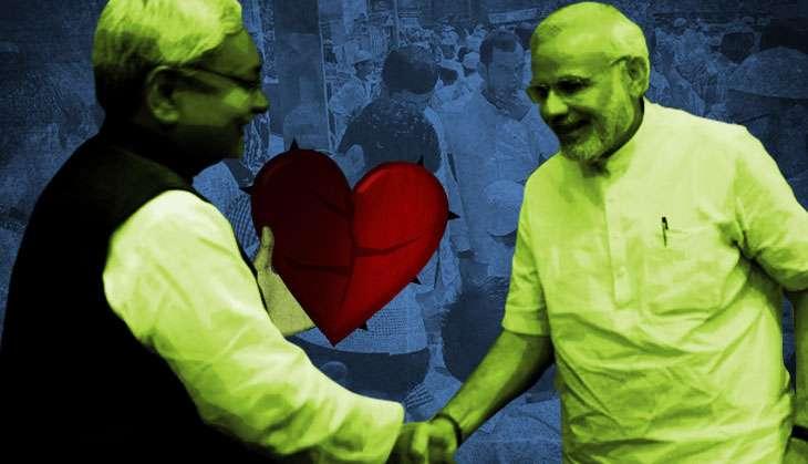 In accusing Nitish of minority appeasement, BJP ignores own majority appeasement