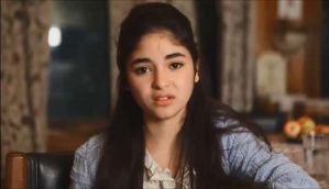 Hate to watch myself on screen, scared to watch my film: Dangal star Zaira Wasim