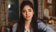'Dangal' actor Zaira Wasim met with an accident in Srinagar