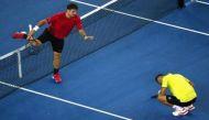Australian Open: World number 4 Stan Wawrinka hits opponent's groin