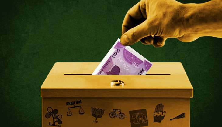 Black money in politics: Only 16% of parties' income comes from known sources