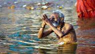 Auspicious bathing of Mauni Amawasya begins at Sangam in Allahabad
