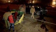 गाजियाबाद: बेकाबू ऑडी ने ऑटो को मारी टक्कर, महिला समेत चार की मौत