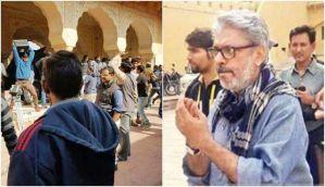 जयपुर: पद्मावती के सेट पर करणी सेना का उपद्रव, संजय लीला भंसाली से मारपीट