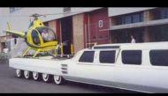 द अमेरिकन ड्रीमः दुनिया की सबसे लंबी कार पर हो जाता है हेलीकॉप्टर भी सवार