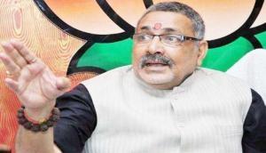 सीट बंटवारे को लेकर केंद्रीय मंत्री गिरिराज सिंह बीजेपी से नाराज