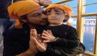 Shah Rukh Khan takes Abram to Amritsar
