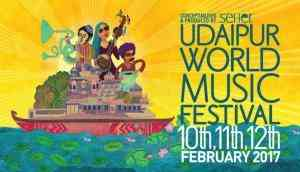 If you love music, you cannot miss the Udaipur World Music Festival