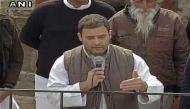 राहुल गांधी का बड़ा आरोप- 'पंजाब में चरमपंथी ताकतों को मदद पहुंचा रहे हैं केजरीवाल'