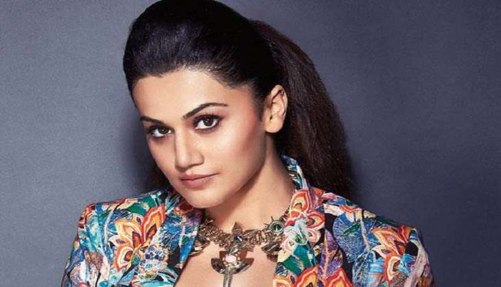 Taapsee Pannu commences shoot for Judwaa 2