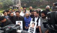 ई अहमद के मामले में केरल के सांसदों के साथ आए राहुल गांधी