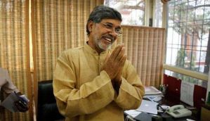 Delhi: Kailash Satyarthi Nobel citation stolen
