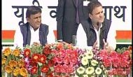 UP polls: Samajwadi Party, Congress launch common minimum programme in Lucknow