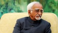 All you need to know about India's outgoing VP Hamid Ansari