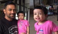 बेटी जीवा के साथ महेंद्र सिंह धोनी का वीडियो हुआ वायरल